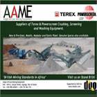 We are suppliers of terex & powerscreen crushing, screening and washing equipment.