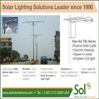 Sol, Inc. has been manufacturing solar powered light systems since 1990. Selecting solar lights from the world