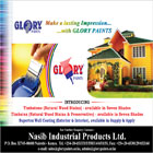 Manufacturers of the Glory brand of paints