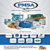 PAN MIXERS SOUTH AFRICA is Africa