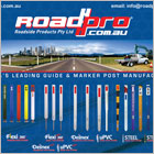 Roadside Products Pty Ltd is the manufacturer and distributor of Dura-Post Guide and Marker Post Systems.