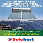 Solahart has manufactured over one million solar hot water systems installed in 80 countries on every continent around the world.