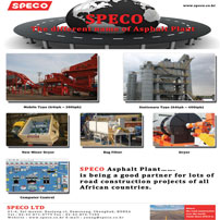 Speco Ltd. is the leading manufacturer & supplier of Asphalt Mixing Plant, Concrete Batching Plant, Crushing Plant & Optimized Integrated Flue Gas Treatment System.